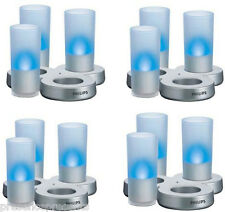 SET OF 3 PHILIPS IMAGEO CANDLE LED TEA LIGHT TABLE LAMP LADIES MENS GIFT PRESENT