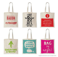 Brainbox Candy Tote Shopping Book Bag Funny Humour Gift Day Birthday Present