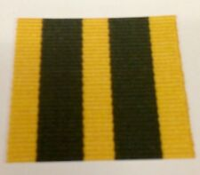 Queens Volunteer Reserves Full Size Medal Ribbon, Army, Military, QVRM, Service