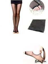 Quality Sheer Tights with No Toe PANTYHOSE Toeless Stockings