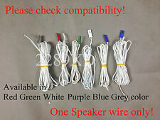 1 OEM Speaker Wire fr Panasonic DVD/Blu-ray Home theater (4.2mm-pitch roud;Read)