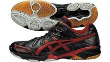 ASICS Japan Men's GELFORZA 5 LO Volleyball Shoes TVR462 Black 2014 Model