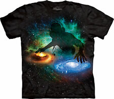 Galaxy Adult  Space Unisex T Shirt The Mountain