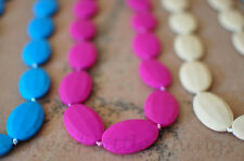 Silicone Nursing Breastfeeding Mommy Chew Teething Beads Necklace for Mom- Penny
