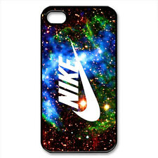 Nike Galaxy Swoosh - Black iPhone 4/4S, 5/5S, Samsung S3, S4 Case