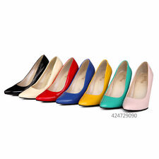 New Womens Shoes Colorful Pumps Classics High Stiletto Heels Party US Size YD277