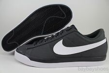 NIKE MATCH SUPREME TEXTILE ANTHRACITE GRAY/WHITE SWEET CLASSIC CANVAS MENS SIZES