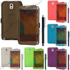 Housse Coque Etui Portefeuille Livre Silicone Samsung Galaxy Note 3 N9000 N9005