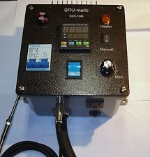 Beer brewing panel mashing, fermenting; still power controller. Brumatic DBC-1MA