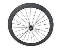 Only 570g 700C 50mm Clincher Tubular Bicycle Carbon Wheel Road Bike Wheel