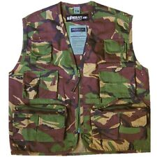 KIDS ARMY VEST RIPSTOP WAISTCOAT BOYS 3-13 CHILDRENS  DRESS UP FANCY DRESS CAMO