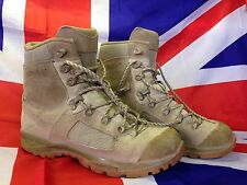Genuine British Army Lowa Elite Desert Assault/Combat Boots Various Sizes Grade1