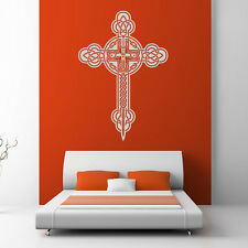 Celtic Cross Wall Stickers Celtic Wall Decal Art