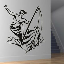 Surfer Wall Stickers Sport Wall Decal Art