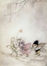 Arthur Rackham BOOK OF PICTURES 1913 Ref 02 PRINT A4 or A5 Size Unframed