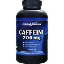 BODYSTRONG Caffeine (200mg) in 90-180 & 360 tabs 1, 2 or 3 Better quality