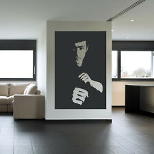 Bruce Lee Wall Sticker Icon Wall Decal Art
