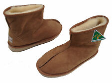Short/Mini Ugg Boots Ankle Slippers Premium Australian Sheepskin Mens Womens