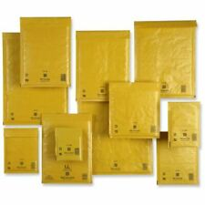 Sealed Air Mail Lite Gold   Bubble lined GOLD Padded Envelopes   All Sizes