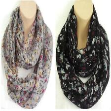 Gorgeous Floral Circle Loop Infinity Scarf Snood - New Spring / Summer Colours!!