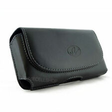 Leather Horizontal Belt Clip Pouch for Cell Phone COMPATIBLE WITH Lifeproof Case