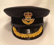 RAF Group Captains No1 Dress Cap, Hat, Badge, Military, Royal Air Force, Peak