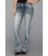 Rock and Roll Cowgirl Low Rise Boot Cut (W06698)