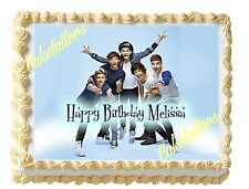 One Direction 1D Edible Image Sheet Cake Topper Picture