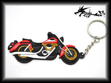 Rubber Motorcycle Keychain Ring Key Chain For Harley Davidson Various Color