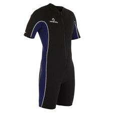 Wetsuit Diving Snorkeling Suit Shorty Thermal Warm Short Sleeves One Piece Men