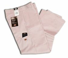 Dickies Men Style 85283 Double Knee Pants Khaki Cell Phone Pocket All Sizes
