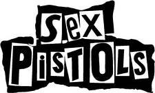 Big Large Sex Pistols Badge a Vinyl Wall Art Sticker in 24 Colours & 5 Sizes