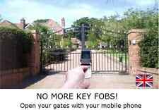 GSM GARAGE DOOR AND ELECTRIC GATE OPENER  - ACCESS CONTROL FROM YOUR MOBILE