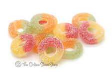 YUMMY GUMMY: FIZZY RINGS (Halal) JELLY GUM SWEETS