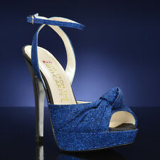 "E! Live ""E0037""  Blue Bridal Shoe"
