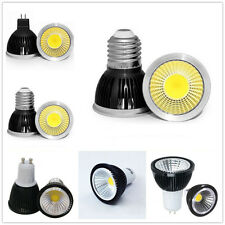 Dimmable MR16 GU10 E27 E14 LED COB Spot Down Light Lamp Bulb 6W 9W 12W Bright