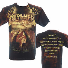 METALLICA - MASTER OF PUPPETS DEATH AO - Official T-Shirt - Metal - New S M L XL