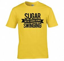 "FALL OUT BOY ""SUGAR WE'RE GOING DOWN SWINGING"" T SHIRT NEW"