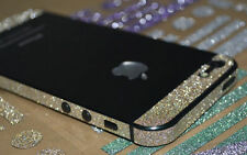 iPhone 5 5s Bumper Side Body Button Deco Luxury Glitter Bling Color Sticker Skin