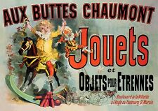 Aux Buttes Chaumont Jouets French Poster Friends TV