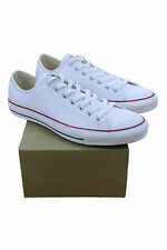 132173C CONVERSE WHITE LEATHER MEN CHUCK TAYLOR ALL STAR LOW