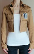 Attack on titan Recon Corps Levi anime cosplay costumes coat jacket