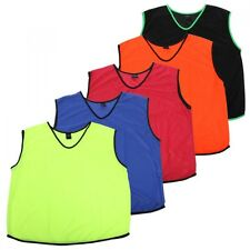 10 X PULSE SPORTS FOOTBALL MESH TRAINING SPORTS BIBS Kids/Youth and Adult Sizes