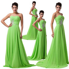 Formal Wedding Bridesmaid Prom Gown Ball Evening Party Cocktail Homecoming Dress
