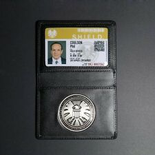 The Avengers Agents of S.H.I.E.L.D. Shield Badge w/ Customized ID Card Holder