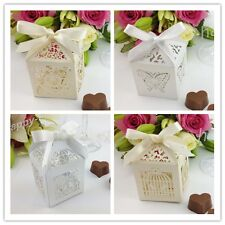 NEW - Luxury Wedding Sweets Candy Favour Boxes & Table Decorations   AA1
