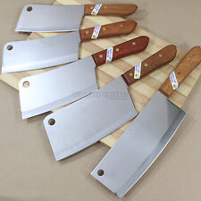 Kiwi Brand Quality Meat Cleaver Thai Cook Kitchen Chef Knife Stainless Steel
