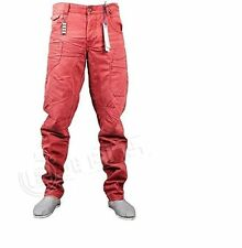 MENS  ETO Jeans New Mens Designer Twisted Leg Jeans
