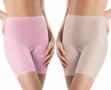 NWT SPANX Skinny Britches Short 901 BLK Pink Violet Gloss VARIOUS SIZES Ret.$42