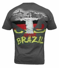 Bad Boy MMA Team Germany Rio Brazil T shirt Martial Arts Clothing Tee Top UFC
